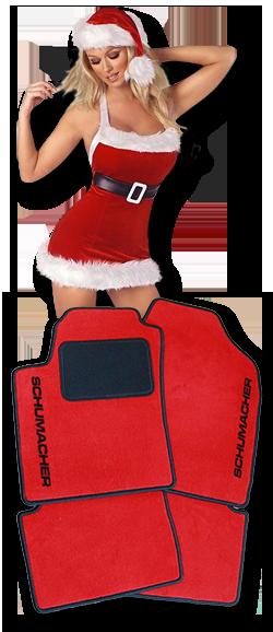autokoberce vánoce